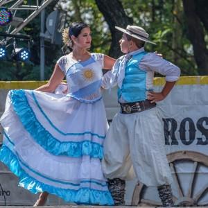 Dancers at the Feria de Matedoras