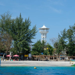 Tower on Gili Trawangang