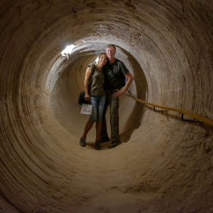 Visiting an opal mine in Coober Pedy