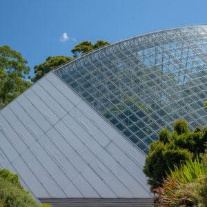 Bicentennial Conservatory in the botanical gardens